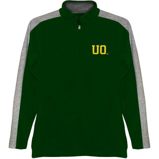 T SHIRT INTERNATIONAL Mens Oregon Ducks BF Conner Quarter Zip Jacket   Size