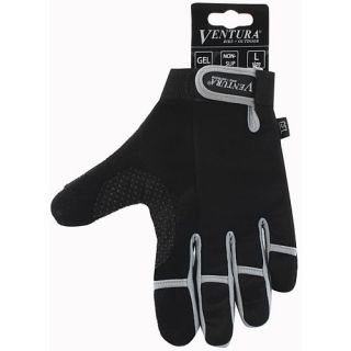 Ventura Full Finger Gloves   Size Large, Grey (719951 G)