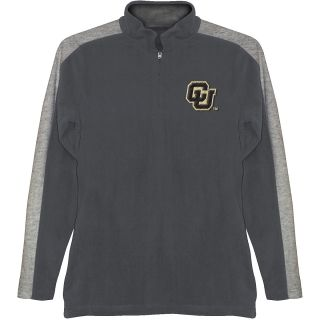 T SHIRT INTERNATIONAL Mens Colorado Buffaloes BF Conner Quarter Zip Jacket