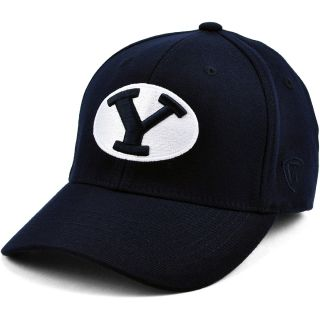TOP OF THE WORLD Mens Premium Collection BYU Cougars Team Color One Fit Hat,
