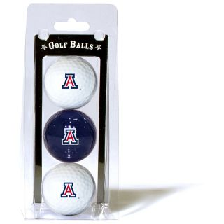 Team Golf University of Arizona Wildcats 3 Ball Pack (637556202055)