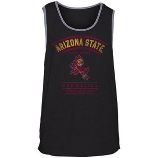 HURLEY Mens Arizona State Sun Devils Premium Tank Top   Size Small, Black
