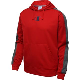 CHAMPION Mens PowerTrain Tech Fleece Pullover Hoodie   Size Large,