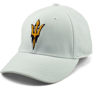 TOP OF THE WORLD Mens Arizona State Sun Devils Premium Collection White One