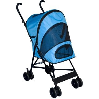 Pet Gear Travel Lite Pet Stroller, Ocean Blue (TL8100OB)