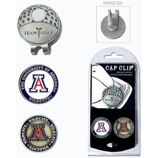 Team Golf University of Arizona Wildcats 2 Marker Cap Clip (637556202475)