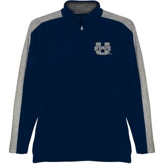 T SHIRT INTERNATIONAL Mens Utah State Aggies BF Conner Quarter Zip Jacket
