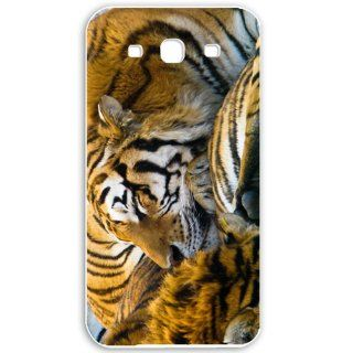 Samsung Galaxy S3 i9300 Cases Customized Gifts For Animals sleeping tigers Animals Birds Tigers White Cell Phones & Accessories