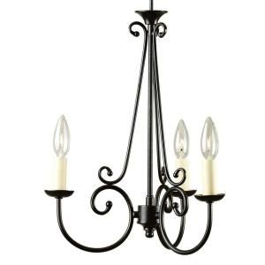 Home Decorators Collection Rogen 3 Light Oil Rubbed Bronze Small Instant Chandelier Light Conversion Kit 0888200280