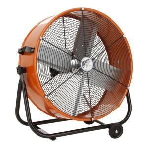 Ventamatic 24 in. Direct Drive Tilt Drum Fan DISCONTINUED BF24TF ORG UPS
