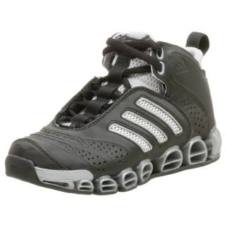 adidas Big Kid a3 Artillery Sneaker, Black/Metallic Silver, 7 M US Big Kid Basketball Shoes Shoes