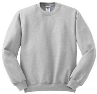 Jerzees Crewneck Sweatshirt 562M at  Men�s Clothing store