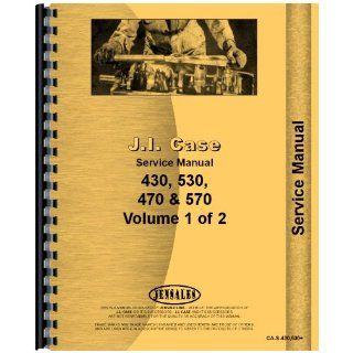 Case 570 Tractor Service Manual Jensales Ag Products Books