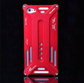 Smatree Apple iPhone 5 5th 5G Transformers Aluminum Metal Frame Bumper Case Cover Red Cell Phones & Accessories