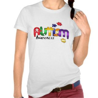 Autism Awareness Puzzle T shirt