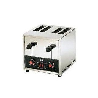 120 Volts Star Holman T4 Commercial 4 Slice Pop Up Toaster Kitchen & Dining