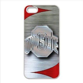 iPhone 5 & 5s Case   NCAA Ohio State Buckeyes Logo Accessories Apple iPhone 5 & 5s Waterproof TPU Back Cases Covers Cell Phones & Accessories