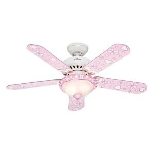 Hunter Annabelle 44 in. Indoor White Ceiling Fan 52020