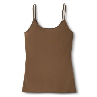 JKY By Jockey Womens Nylon Stretch Cami   Chestnut M