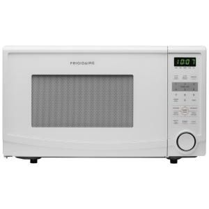 Frigidaire 1.1 cu. ft. Countertop Microwave in White FFCM1134LW