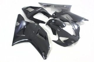 Black Injection Fairing Bodywork for Yamaha YZF 1000 R1 2000 2001  Injection molded Automotive
