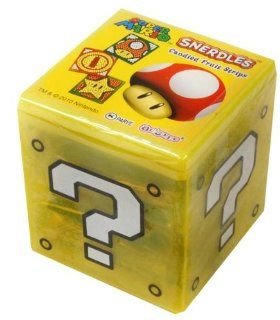 Nintendo Super Mario Brothers Box Snerdles Candy Fruit Stripes Grocery & Gourmet Food
