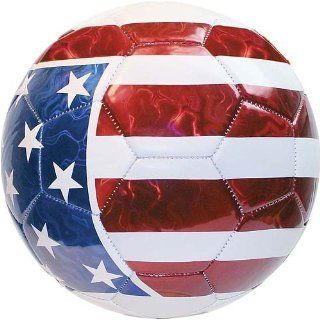 Champion Sports American Flag FBX Series Soccer Ball Size 5  Recreational Soccer Balls  Sports & Outdoors