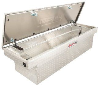 Delta Pro PAC1582000 Full Size Bright Aluminum Single Lid Deep Crossover Truck Box Automotive