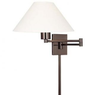 Kovacs P4358 1 631 Single Light Up Lighting Swing Arm Wall Sconce from the Boring Collection, Chocolate Chrome