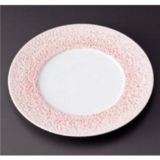 dinner plate kbu751 14 642 [10.95 x 0.99 inch] Japanese tabletop kitchen dish Pasta dish Coral 27 cm dinner (pink) [27.8 x 2.5cm] specialized white porcelain Restaurant Hotel Tableware commercial restaurant kbu751 14 642 Dinner Plates Kitchen & Dinin