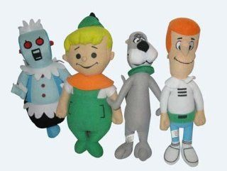 THE Jetsons George Elroy Astro Robot Plush Doll 4pc Set Toys & Games