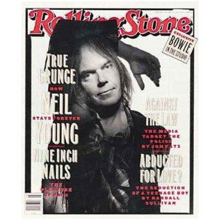 Rolling Stone Magazine Issue 648 Neil Young, Nine Inch Nails, David Bowie in the Studio, January 21st, 1993 Wenner, Photo Illustrated Books