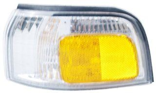 OE Replacement Honda Accord Front Driver Side Marker Light Assembly (Partslink Number HO2550110) Automotive