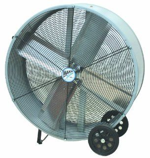 MaxxAir BF36DD GREY 36 Inch High Velocity Direct Drive Drum Fan   Built In Household Ventilation Fans