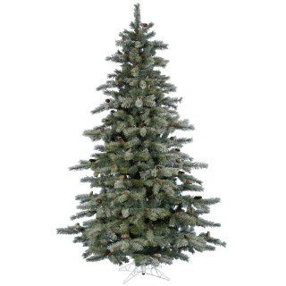 9.5' Full Frosted Sartell Artificial Christmas Tree   Unlit