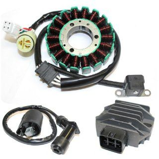 STATOR & REGULATOR RECTIFIER YAMAHA RAPTOR 660 YFM660 2001 2005 & IGNITION COIL Automotive