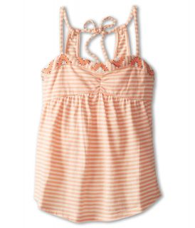 Roxy Kids Bridgeport Beading Tank Girls Sleeveless (Orange)