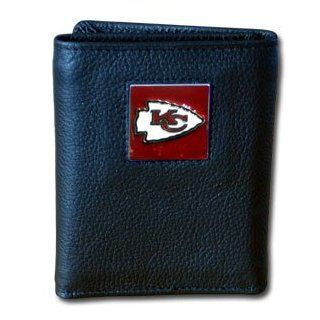 Officially Licensed NFL Tri fold Wallet in a Window Box   Kansas City Chiefs Sports & Outdoors