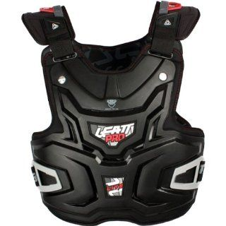 Leatt Lite Pro Adult Chest Protector Motocross/Off Road/Dirt Bike Motorcycle Body Armor   Black / One Size Automotive