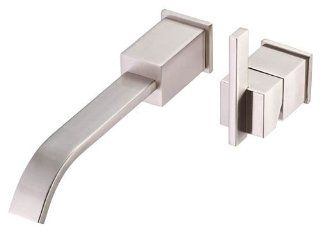 Danze D216044BN Sirius Single Handle Wall Mount Lavatory Faucet, Brushed Nickel   Touch On Bathroom Sink Faucets