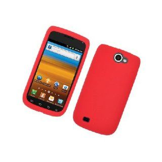 Samsung Galaxy Exhibit 4G T679 SGH T679 Red Soft Silicone Gel Skin Cover Case Cell Phones & Accessories