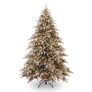 National Tree Co. 7.5 Snowy Concolor Fir Artificial Christmas Tree