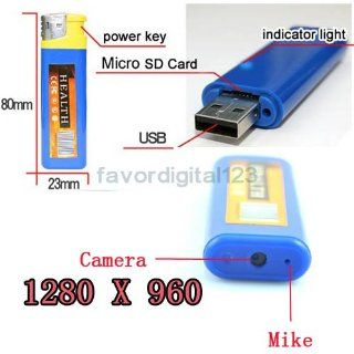 Lighter DVR Hidden Camera Cam Camcorder USB Mini 2g  Spy Cameras  Camera & Photo