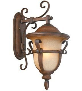 Currey and Company 9393 Beehive   One Light Pendant, Old Iron Finish with Natural Shade   Ceiling Porch Lights