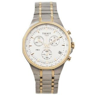 Tissot PRX Silver Chronograph Classic Men's watch #T077.417.22.031.00 Watches
