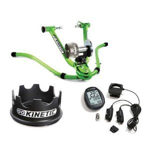 Kinetic Rock & Roll Trainer with Wired Power Computer, Turntable Rising Ring  Bike Trainers  Sports & Outdoors