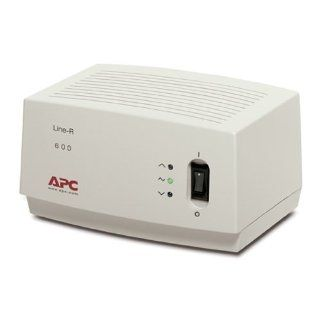 Beige APC 600VA Automatic Voltage Regulator, 6.5 Feet, 4 Outlets, 680 Electronic Component Cables