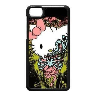Zombie Hello Kitty Hard Plastic Back Cover Case for BlackBerry Z10 Cell Phones & Accessories