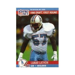 1990 Pro Set #683 Lamar Lathon RC Sports Collectibles