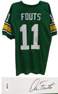 Dan Fouts Signed Green Throwback Custom Jersey   PSA/DNA at 's Sports Collectibles Store